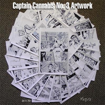 Captain Cannabis No. 3 Artwork